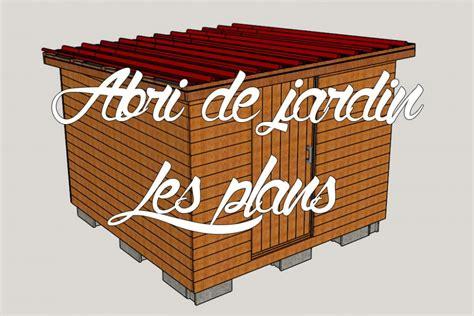 Plan Construction Abri De Jardin by Abri De Jardin En Bois Nos Plans 3d Comme Un Pingouin