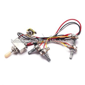 piece wiring harness   toggle switch vt  pots