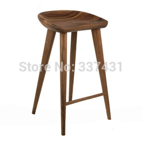 Wood Counter Stools by Tractor Stool Counter Stool Walnut Solid Wood Bar Stool