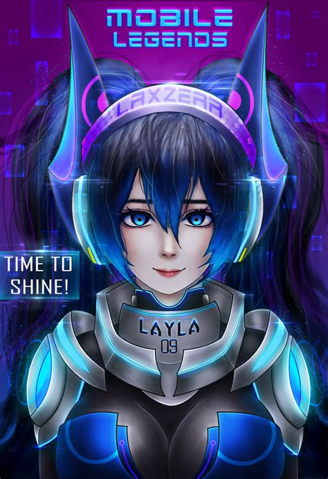 anime mobile legend layla mobile legends by laxzear on deviantart