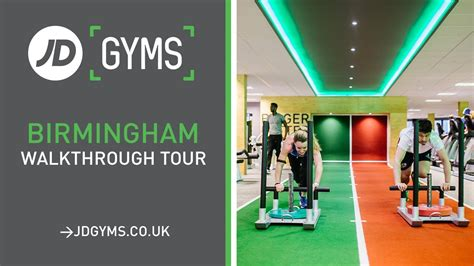 jd gyms birmingham walkthrough  youtube