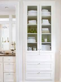 Bathroom Linen Storage Ideas by Creative Bathroom Storage Ideas Linen Closets Cabinets