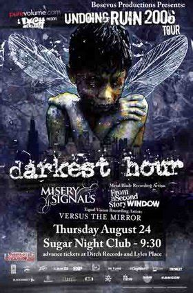 darkest hour undoing ruin undoing ruin tour darkest hour misery signals from a