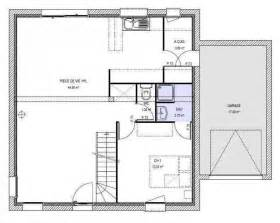 plan de plain pied 110m2 interesting plan de