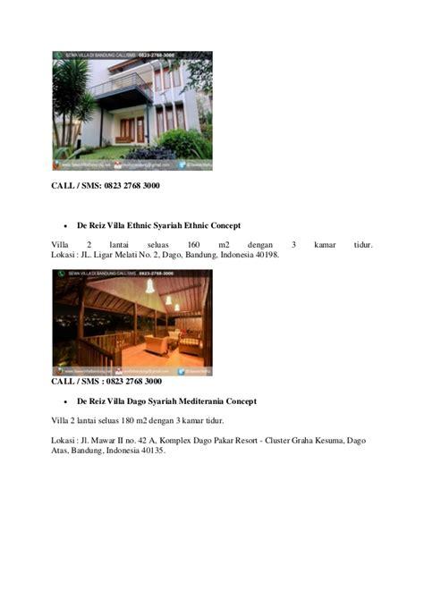 Hp Zu M2 Bandung sewa villa di bandung hp 0823 2768 3000