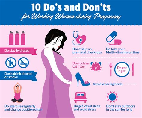 10 do s and don ts for working during pregnancy