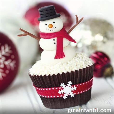 cupcake con cara de mu 241 eco de nieve 6 ideas para decorar