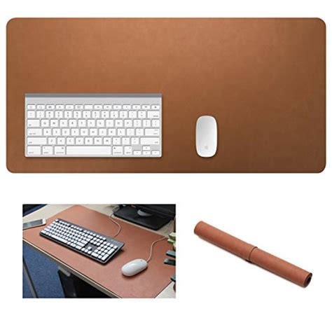 large desk mouse mat yikda extended leather gaming mouse pad mat large