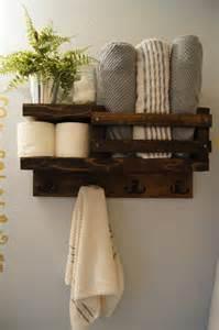 Shelves For Towels In Bathrooms Bath Towel Shelf Bathroom Wood Shelf Towel By Madisonmadedecor Bathroom Towel