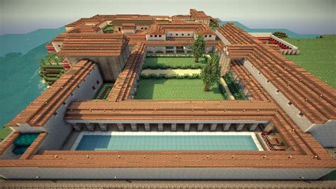 What Style Of Architecture Is My House by Roman Villa Villa Syndexioi World Save Schematic