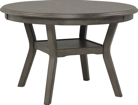 brookgate gray  dining table contemporary