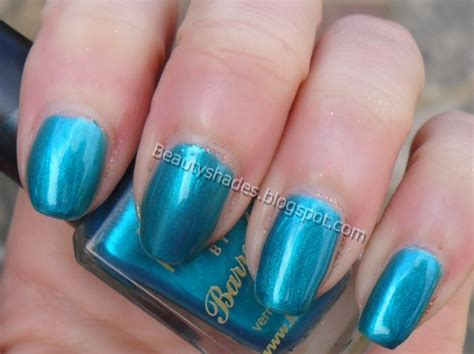 barry m teal nail paint swatch beautyshades