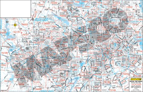 zip code map dallas county image gallery north texas mapsco