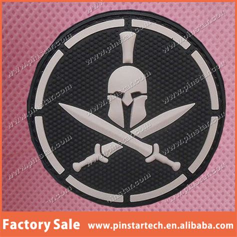 Patch Rubber Velcro Tactical Indonesia 1 custom spartan pvc tactical badge black ops combat morale us swat velcro patch buy