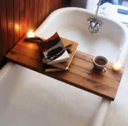 Bathtub Reading 15 bathtub tray design ideas for the bath enthusiasts among us