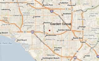 garden grove california map and garden grove california