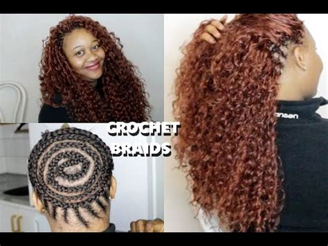 how to make hair fuller with crochet braids how to do beautiful crochet braids ponytail youtube