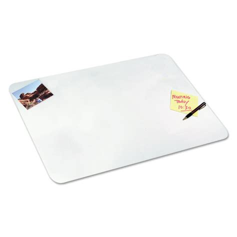 Clear Plastic Desk Pad by Clear Desk Pad With Microban 19 X 24 Plastic Goddess Products