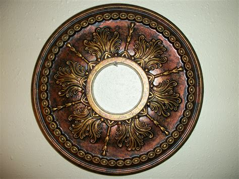 Ceiling Medallions by Painted Bronze Copper Gold Ceiling Medallion 14 Quot