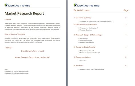 market research report sle pdf market research report template 28 images paid surveys