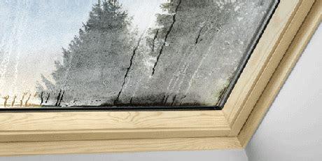 Wasser An Fenster by Velux Kondensat Wasser Am Fenster