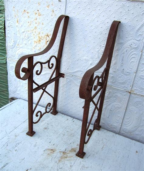 bench parts wrought iron bench parts metal seating