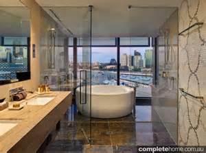 Complete Shower Bath Suites top 6 australian luxury hotel bathrooms completehome