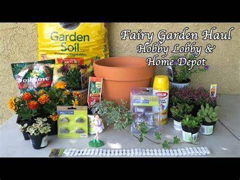 Home Depot Garden Supplies garden haul hobby lobby home depot