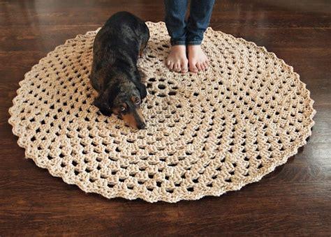 Free Pattern Crochet Rug by Free Pattern Beautiful Crochet Rug Rug