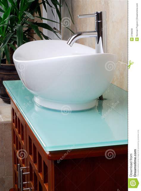 Vanity Powder Room Modern Bathroom Vanity Sink Stock Photo Image 2796230