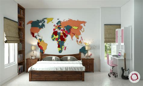7 Beautiful World Map Decor Ideas For Walls | 7 beautiful world map decor ideas for walls