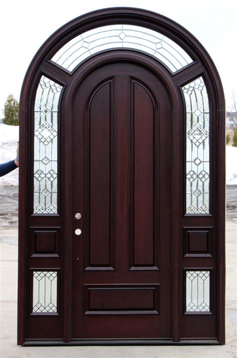 Arched Exterior Doors by Arched Exterior Door With Sidelights Cl 20
