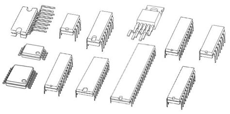 integrated circuits common integrated circuits common 28 images common integrated circuits l298n circuit dual bridge