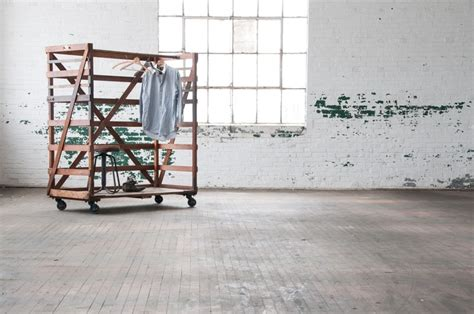 Columbia Rack by Columbia Clothiers Rolling Garment Rack Factory 20