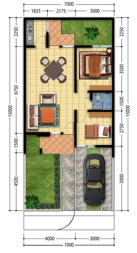 desain denah rumah idaman rumah impian