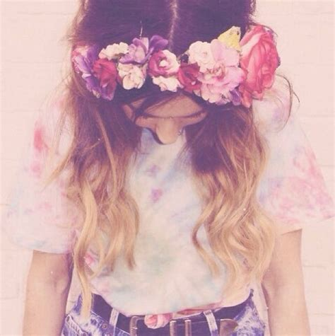 wallpaper flower crown flower crown background tumblr