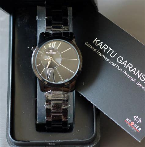 Jam Tangan Hegner 317 Black Original 1 hegner jam tangan hegner wanita pria garansi