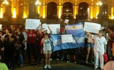 imagenes de justicia por nisman argentina miles exigieron justicia por muerte de fiscal