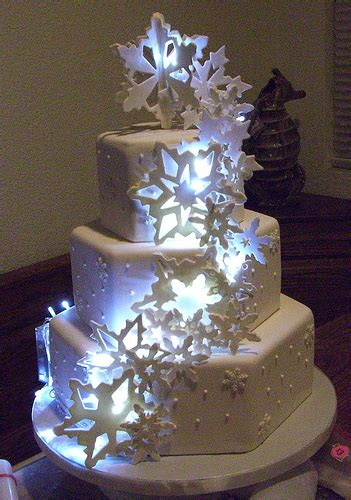 light up snowflake cake snowflake cake with lights behind flickr photo sharing