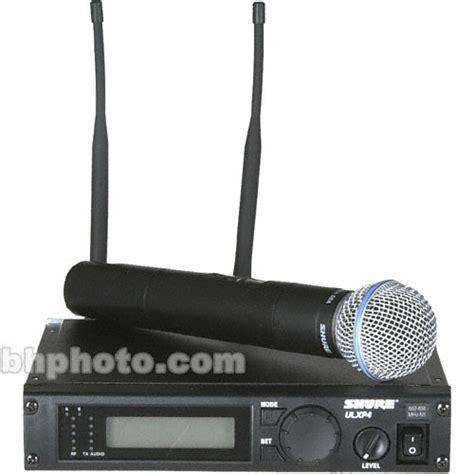 Wireless Microphone Shure Bisa Ubah Frequensi shure ulx professional series wireless ulxp24 beta58 j1 b h