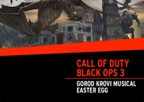 call of duty black ops five easter egg call of duty black ops 3 gorod krovi musical easter egg