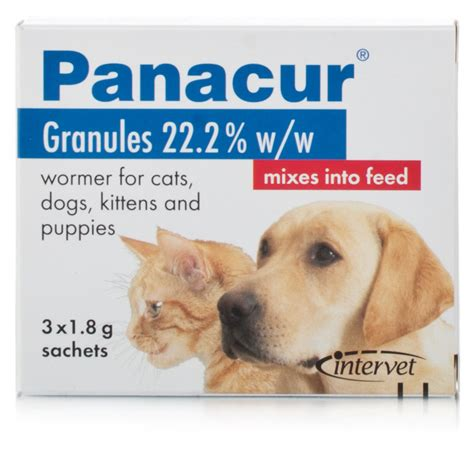 fenbendazole for dogs panacur granules for dogs and cats chemist direct
