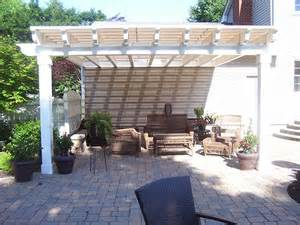 Pergola Designs With Covers by Custom Fabricated Pergola Covers