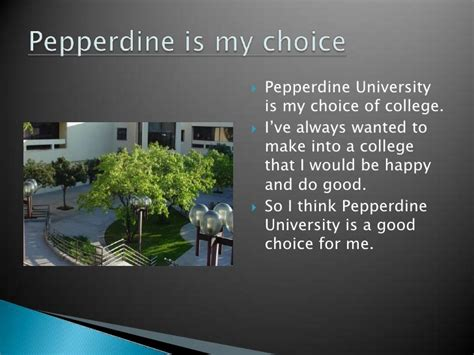 How Is It To Get Into Pepperdine Mba by Ppeeprojectfysdf
