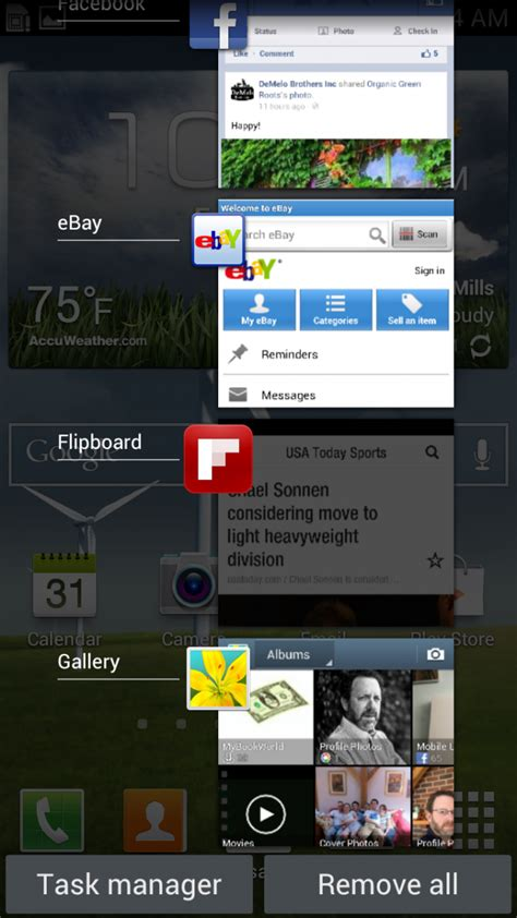 recent apps android how to switch applications and multitask on the galaxy s3 android central