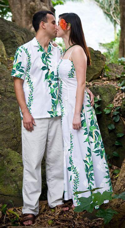 Wedding Attire Hawaii by Of Aloha Hawaiian Wedding Dress Hawaiian