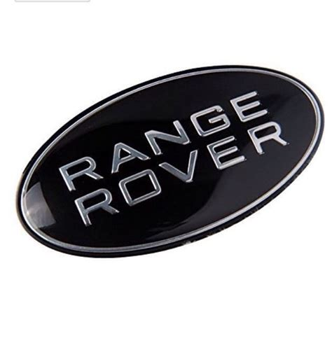 range rover black badge emblem front rear freelander