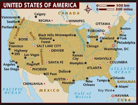 usa map with states and cities boston map of america boston my