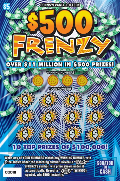 Best Lottery Instant Win Game To Play - pennsylvania lottery pa lottery scratch offs