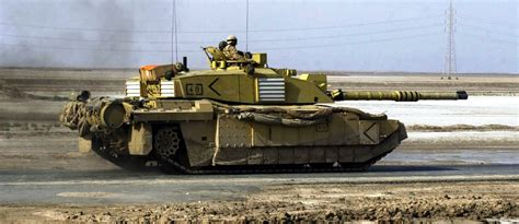 challenger 2 in challenger 2 tank in iraq 2003 think defence